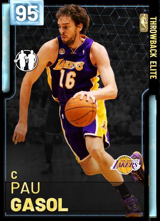 '18 Pau Gasol diamond card