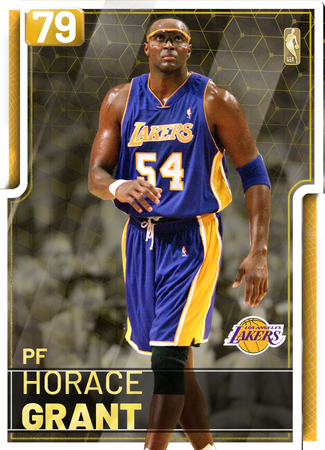 '04 Horace Grant gold card