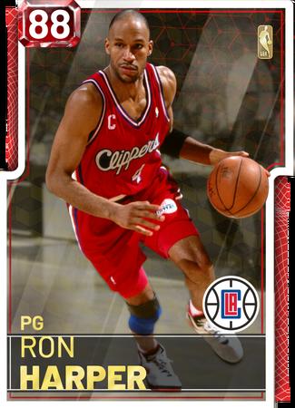 '01 Ron Harper ruby card