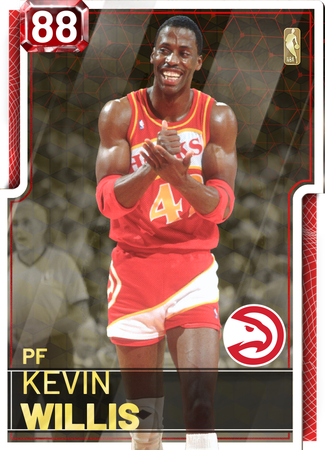 '87 Kevin Willis ruby card