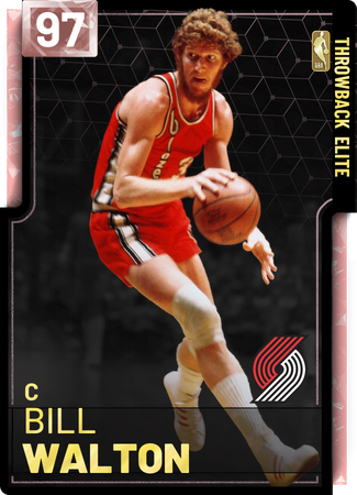 '87 Bill Walton pinkdiamond card