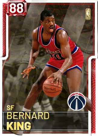 '93 Bernard King ruby card