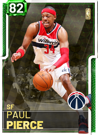 '08 Paul Pierce emerald card