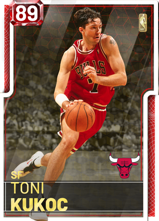 '06 Toni Kukoc ruby card