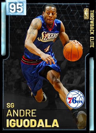 '05 Andre Iguodala diamond card