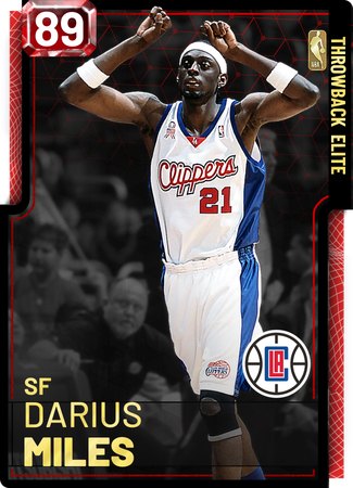 '09 Darius Miles ruby card