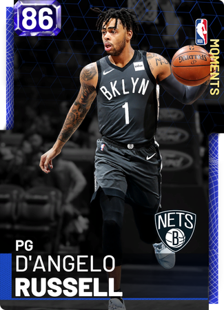 D'Angelo Russell sapphire card
