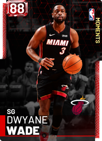 Dwyane Wade ruby card