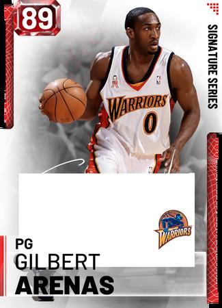 '03 Gilbert Arenas ruby card