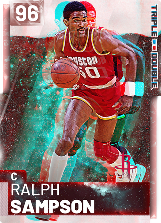 '84 Ralph Sampson pinkdiamond card