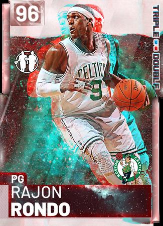'08 Rajon Rondo pinkdiamond card