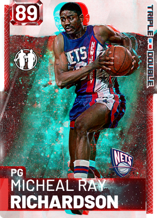 '85 Micheal Ray Richardson ruby card