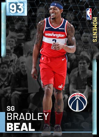 Bradley Beal diamond card