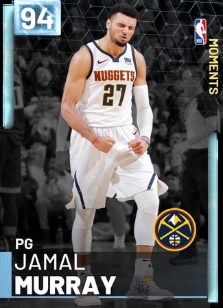 Jamal Murray diamond card