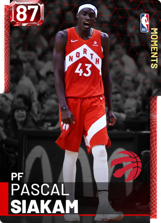 Pascal Siakam ruby card