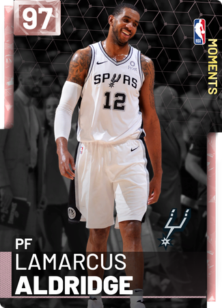 LaMarcus Aldridge pinkdiamond card