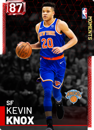 Kevin Knox ruby card