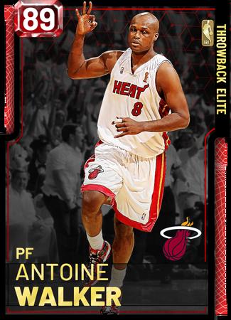 '08 Antoine Walker ruby card