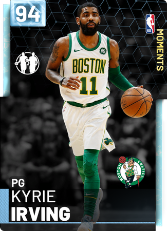 Kyrie Irving diamond card
