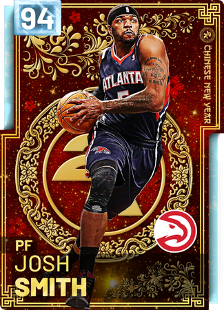 '18 Josh Smith diamond card