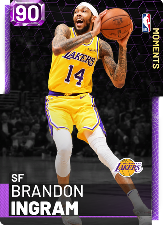 Brandon Ingram amethyst card