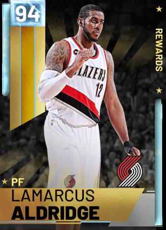 LaMarcus Aldridge diamond card