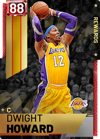 '18 Dwight Howard ruby card
