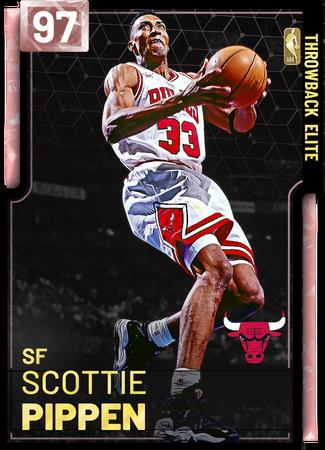 '95 Scottie Pippen pinkdiamond card