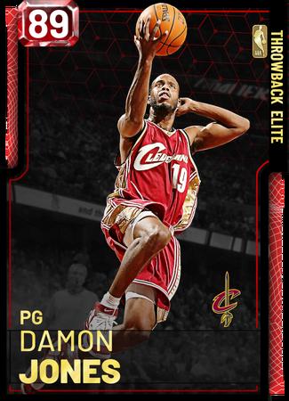 '07 Damon Jones ruby card