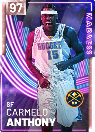 '12 Carmelo Anthony pinkdiamond card