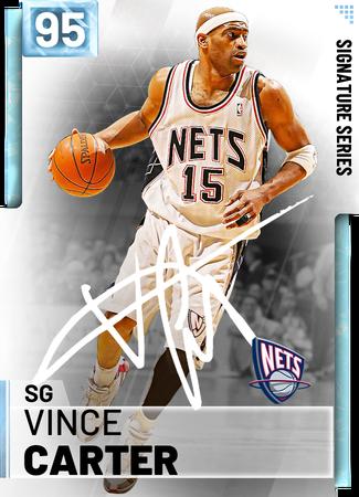 '00 Vince Carter diamond card