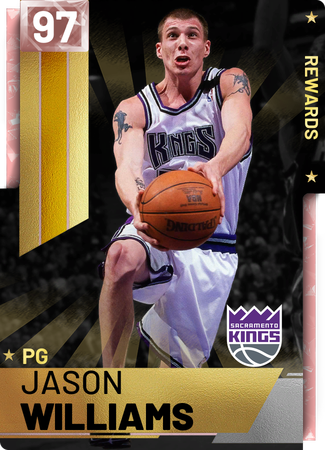 '00 Jason Williams pinkdiamond card
