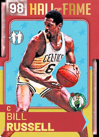 '65 Bill Russell pinkdiamond card