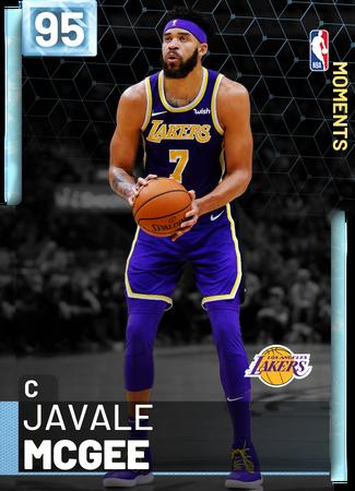JaVale McGee diamond card