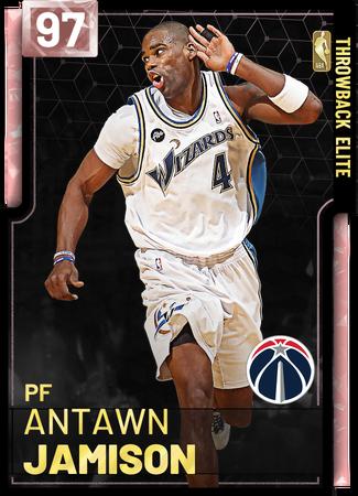 '06 Antawn Jamison pinkdiamond card