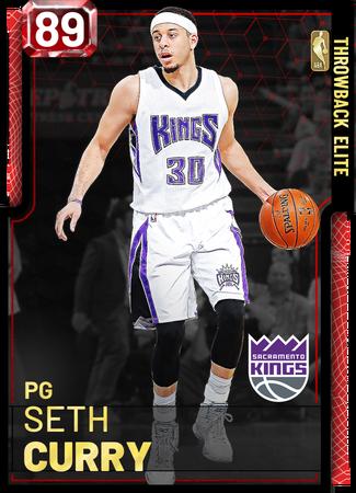 Seth Curry ruby card