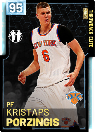'15 Kristaps Porzingis diamond card
