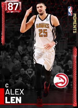 Alex Len ruby card