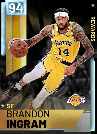 '18 Brandon Ingram diamond card