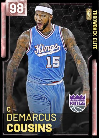 DeMarcus Cousins pinkdiamond card