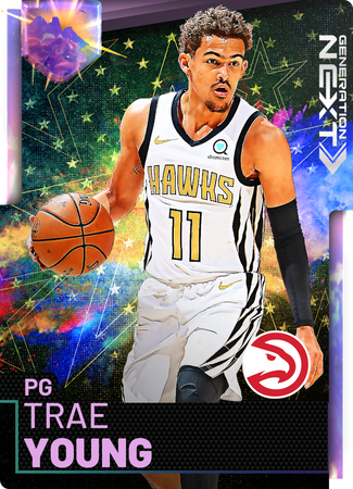 Trae Young opal card