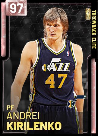 '04 Andrei Kirilenko pinkdiamond card