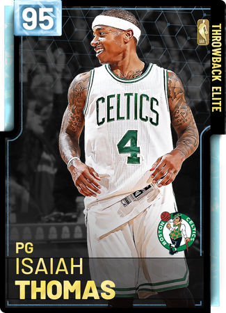 '17 Isaiah Thomas diamond card