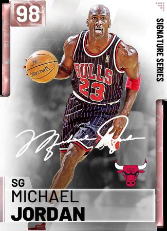 '95 Michael Jordan pinkdiamond card