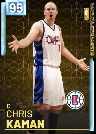 Chris Kaman diamond card