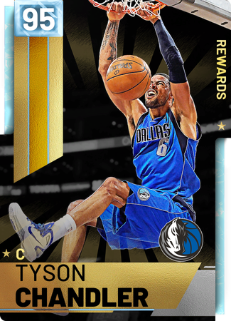 '12 Tyson Chandler diamond card
