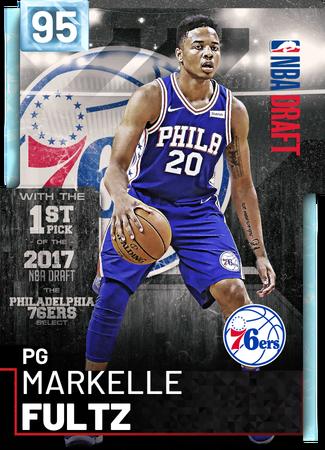 Markelle Fultz diamond card