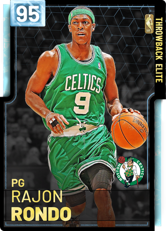 '08 Rajon Rondo diamond card