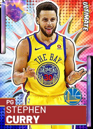 '17 Stephen Curry opal card