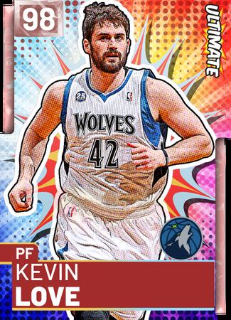 Kevin Love pinkdiamond card